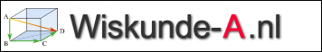 Logo Wiskunde A